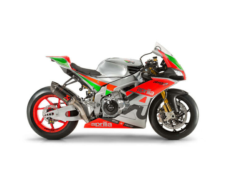 2016 Aprilia RSV4 Factory Works. Side Right.