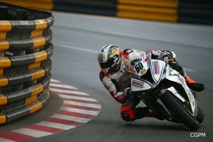 Peter Hickman wins 2015 Macau Grand Prix