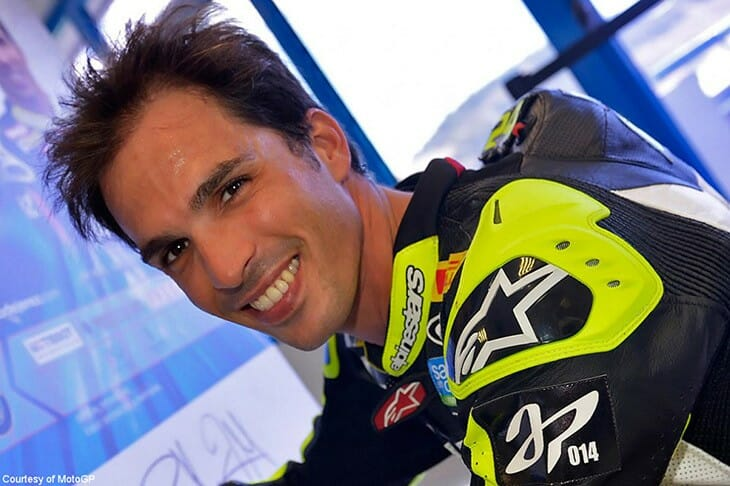 Elias-Toni-flat track racer