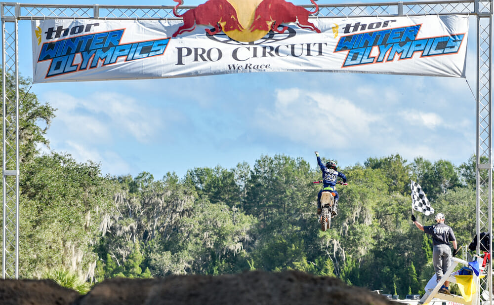 Matthwe Lablanc was one of the big winners today at the Mini O's in Florida.