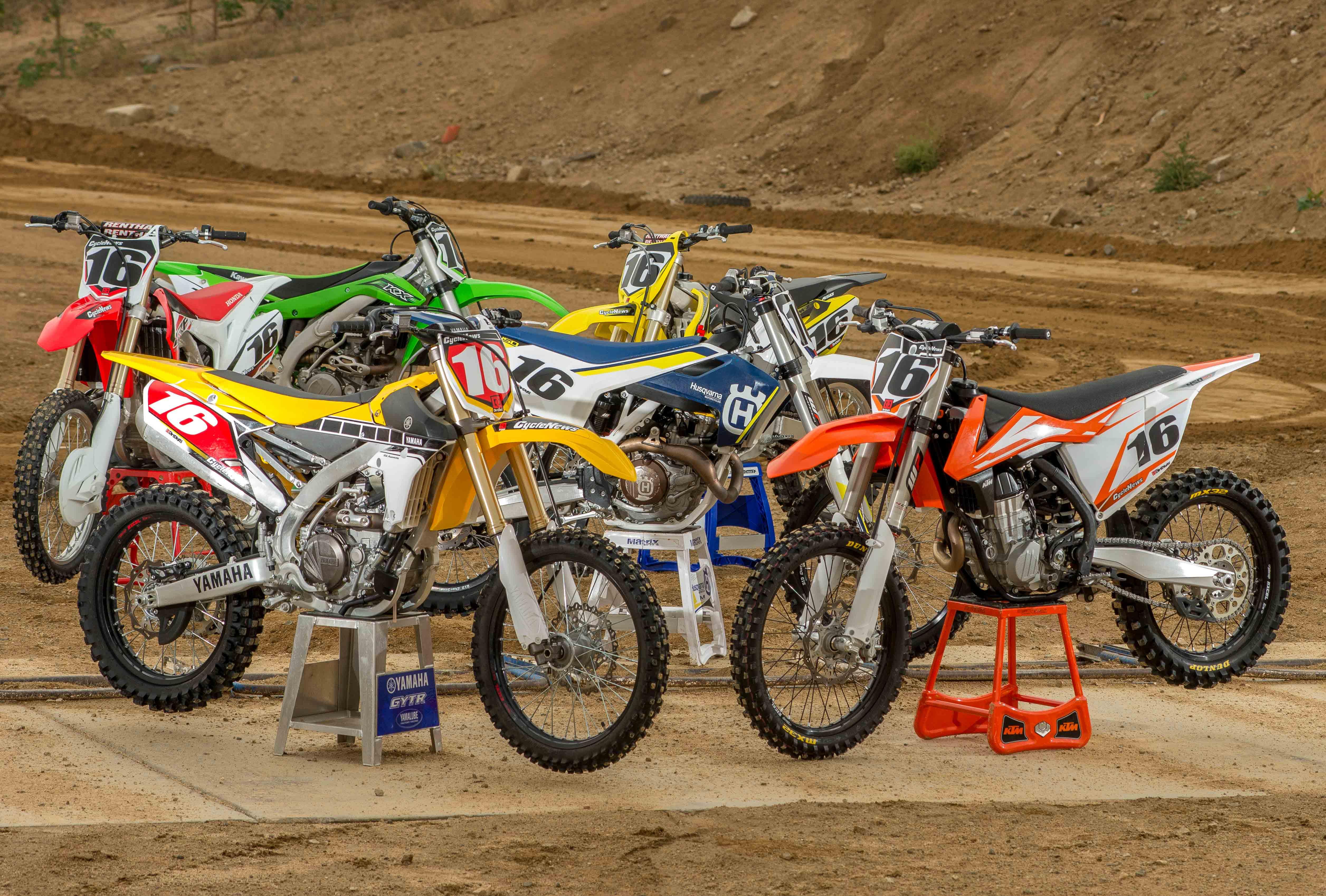 2015 450 motocross shootout cycle news autos post for Bettencourt s honda suzuki