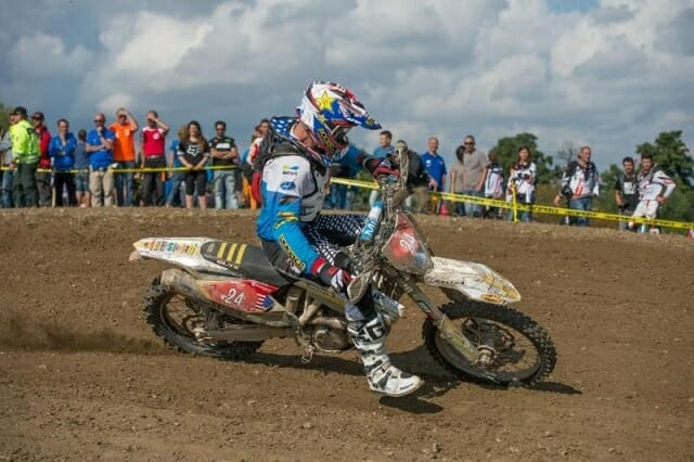 Ryan Sipes was the first American to ever win the title of Overall ISDE Champion.