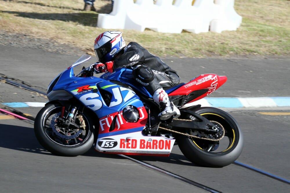 Suzuki Series winner Sloan Frost