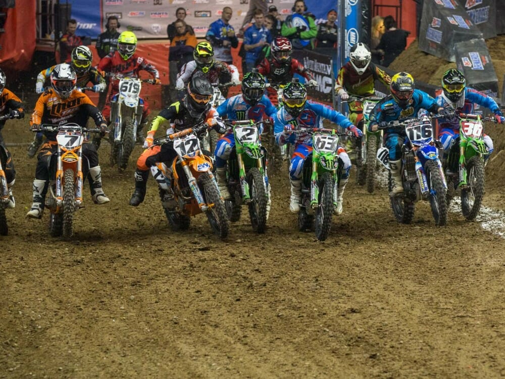AMSOIL Arenacross TV Schedule Announced - Cycle News