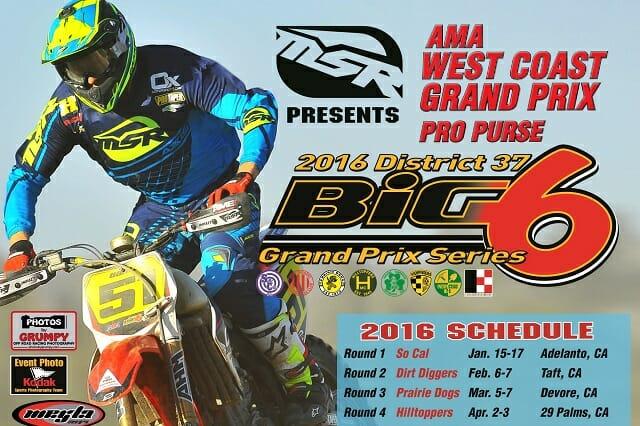 2016 District 37/Big 6 GP Series Race Dates - Cycle News