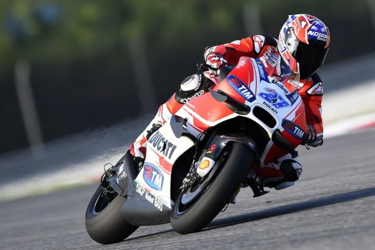 Stoner back in action at Sepang