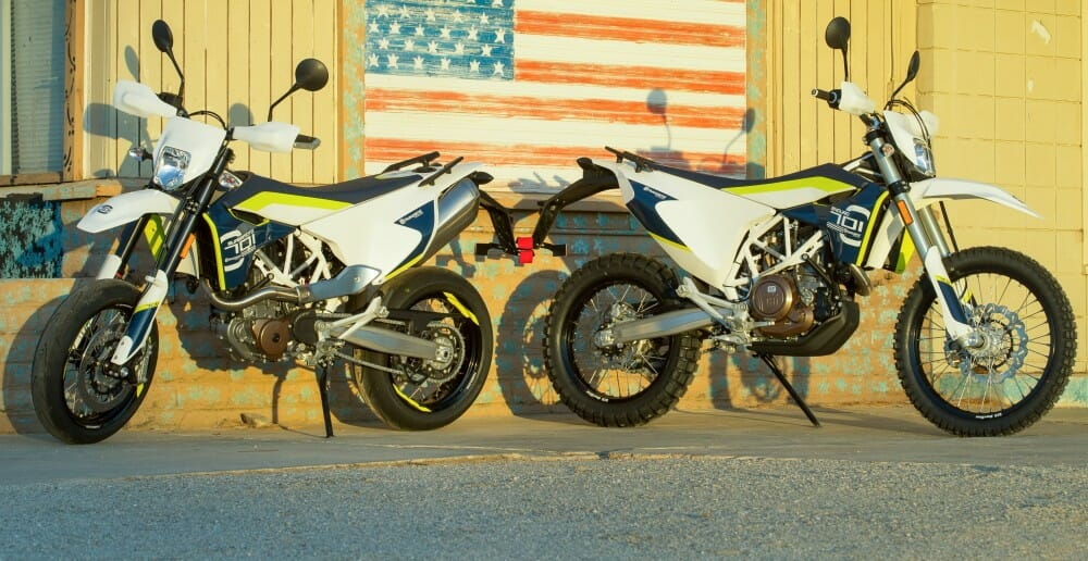 2016 husqvarna 701 supermoto and 701 enduro first ride cycle news. Black Bedroom Furniture Sets. Home Design Ideas