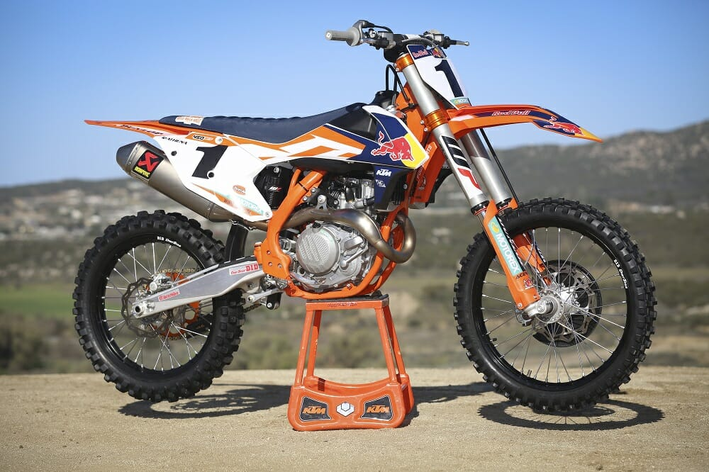2016 ktm 450 sx f factory edition first ride cycle news. Black Bedroom Furniture Sets. Home Design Ideas