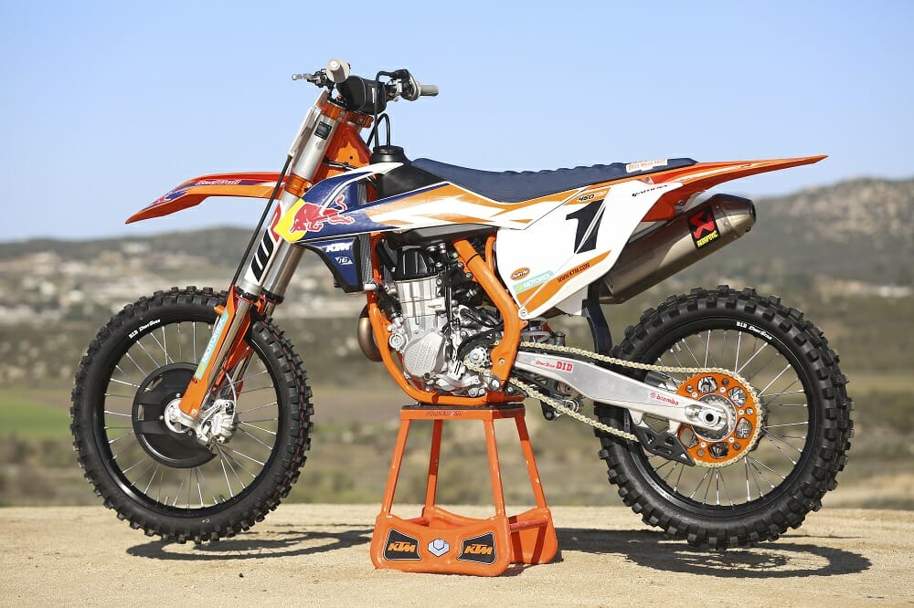 2016 ktm 450 sx-f factory edition: first ride - cycle news