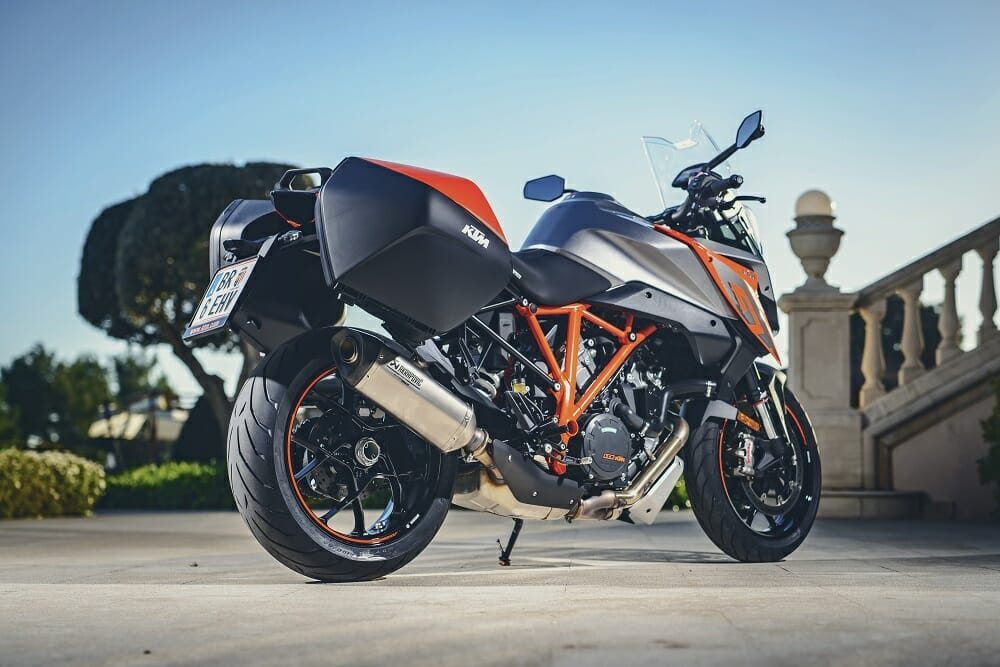 2017 ktm 1290 super duke gt: first ride - cycle news