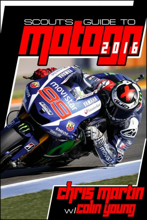Scout's Guide to MotoGP 2016