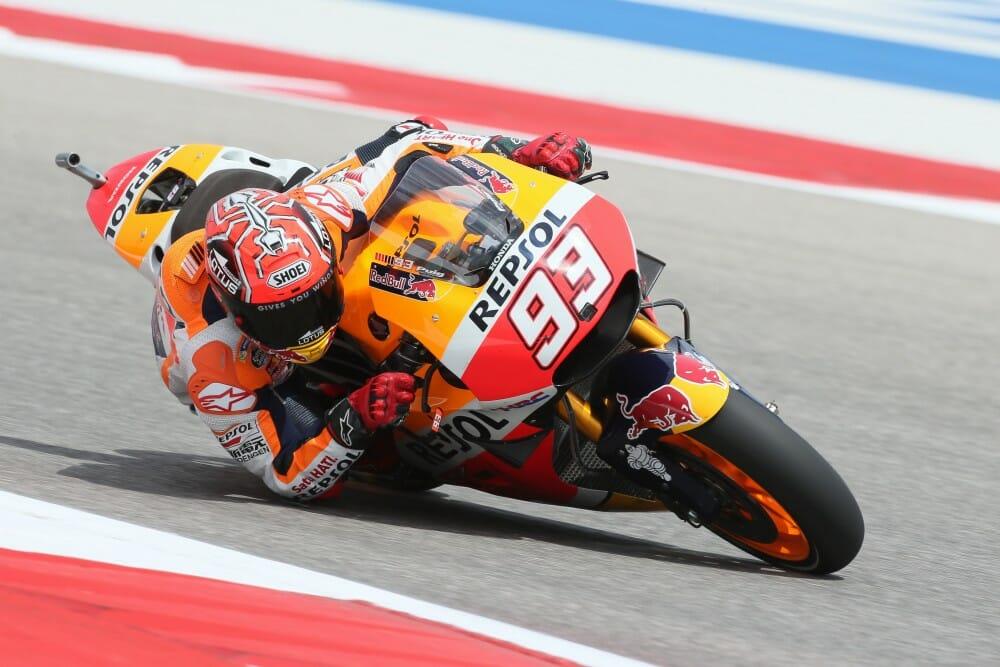 MotoGP: Marquez Dominates COTA Qualifying - Cycle News