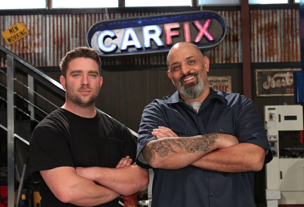 (From left) Jared Zimmerman & Lou Santiago