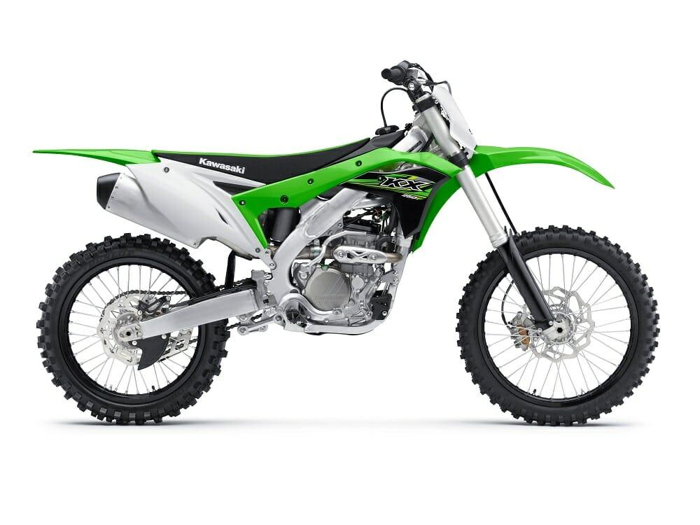 2017 kawasaki motocross bikes revealed cycle news. Black Bedroom Furniture Sets. Home Design Ideas