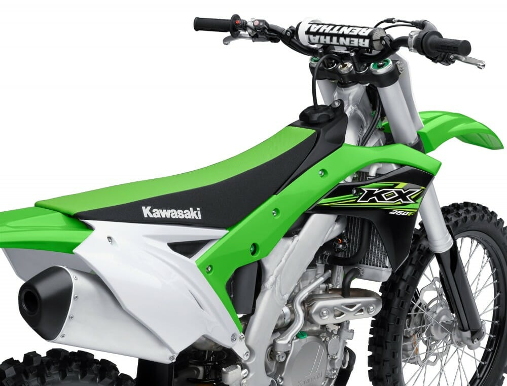 2017 Kawasaki Kx250f Mega Gallery First Look Cycle News