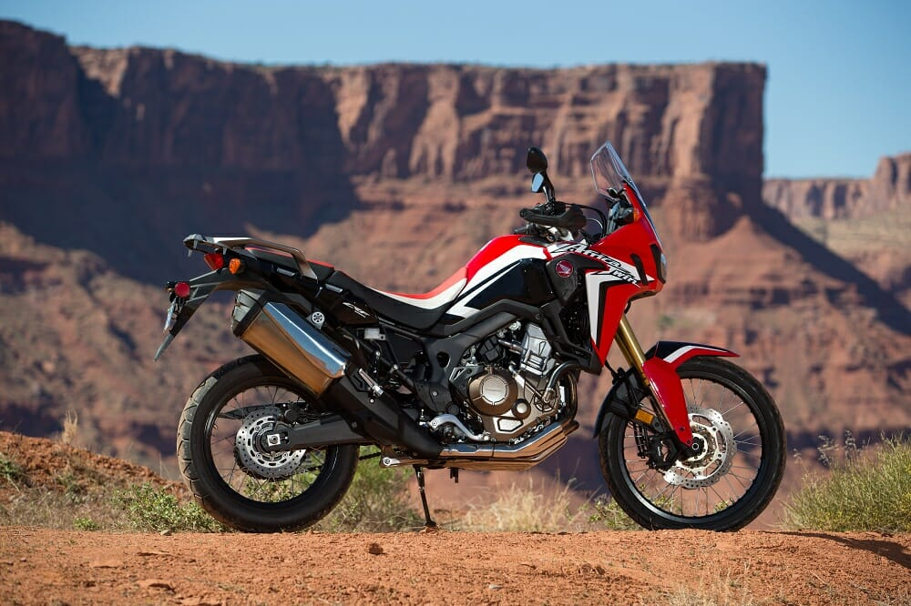 We're glad Honda chose to fit the Africa Twin with a 21-inch front ...