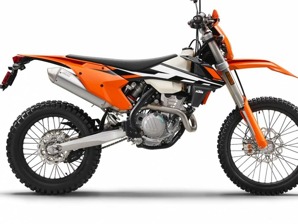 first look 2017 ktm exc f dual sport bikes cycle news. Black Bedroom Furniture Sets. Home Design Ideas