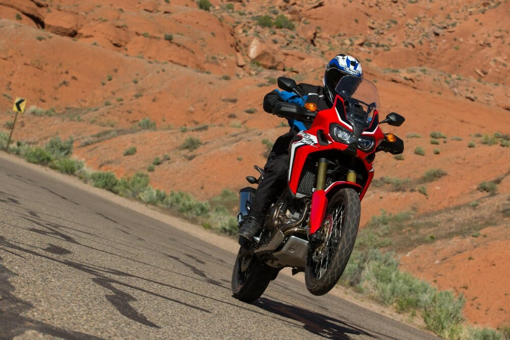 Honda Crf1000l Africa Twin First Ride Cycle News