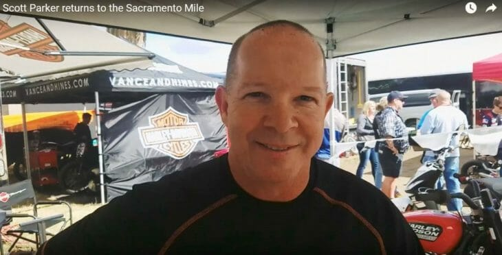 Scott Parker returns to the Sacramento Mile