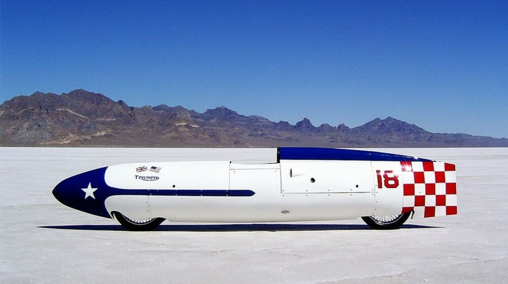 Texas Ceegar - Triumph Land Speed Record