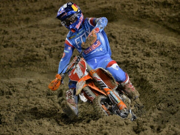 Ryan Dungey won the Las Vegas Supercross
