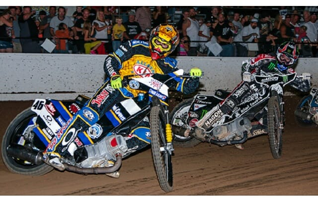 Costa Mesa Speedway is proud to celebrate our 48th consecutive Speedway Motorcyle racing season!