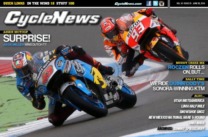 Cycle News Cover