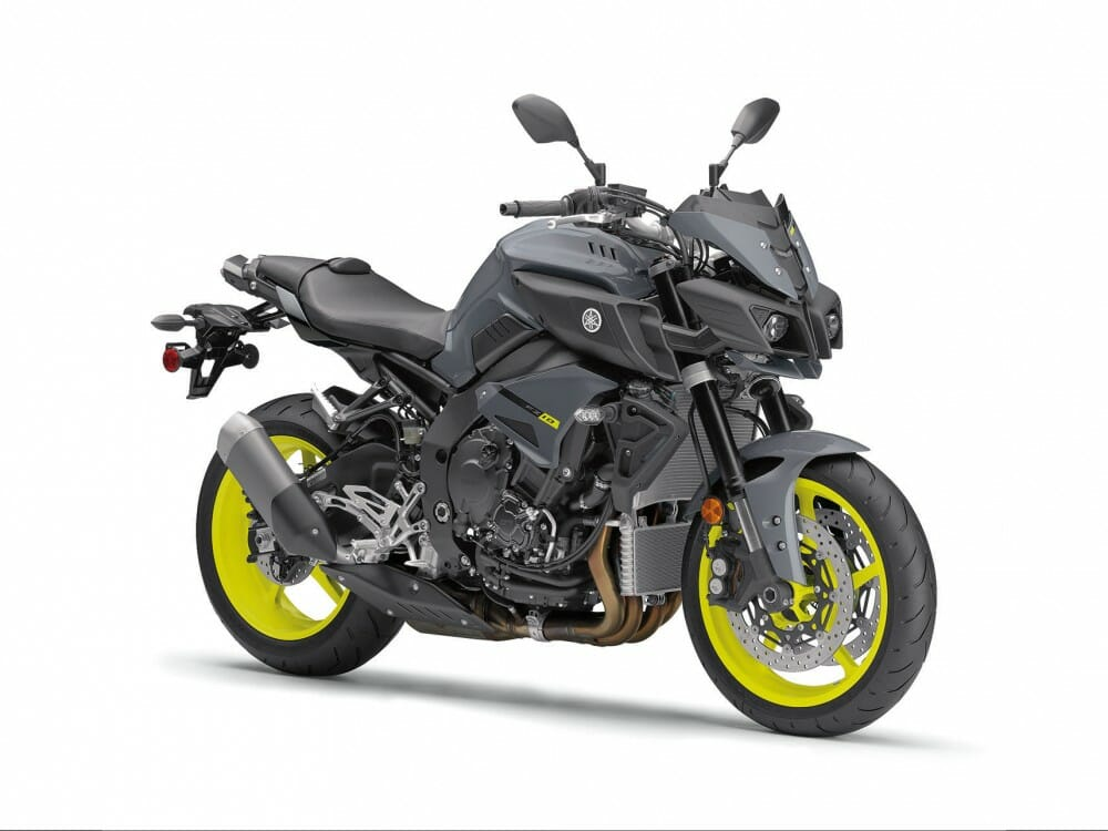 2017 yamaha fz 10 first look cycle news. Black Bedroom Furniture Sets. Home Design Ideas