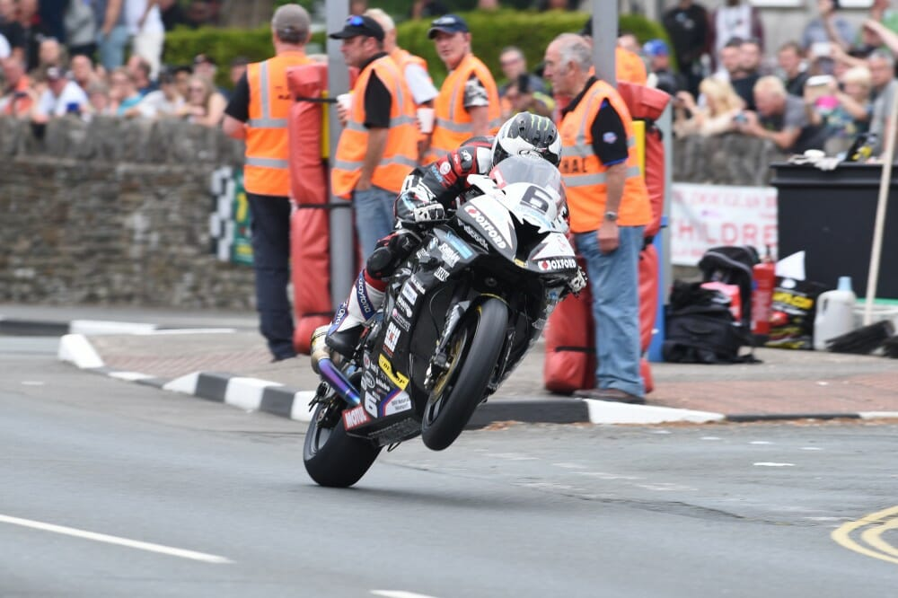 Isle of Man TT 2016: Michael Dunlop wins Senior in record time