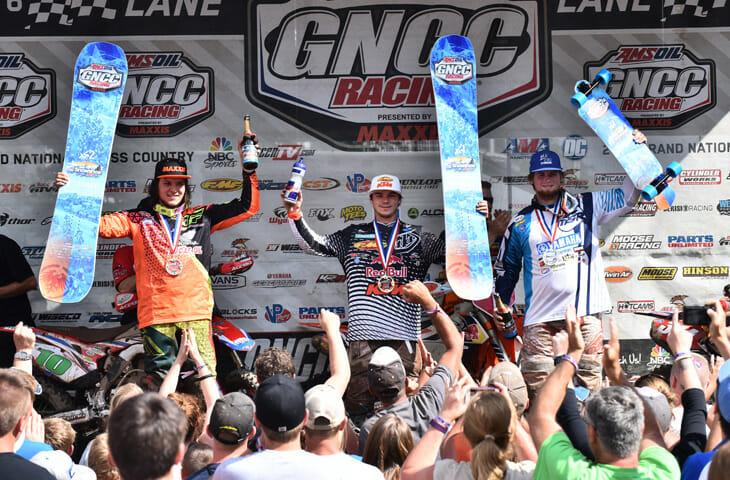 GNCC-podium-snowshoe-w