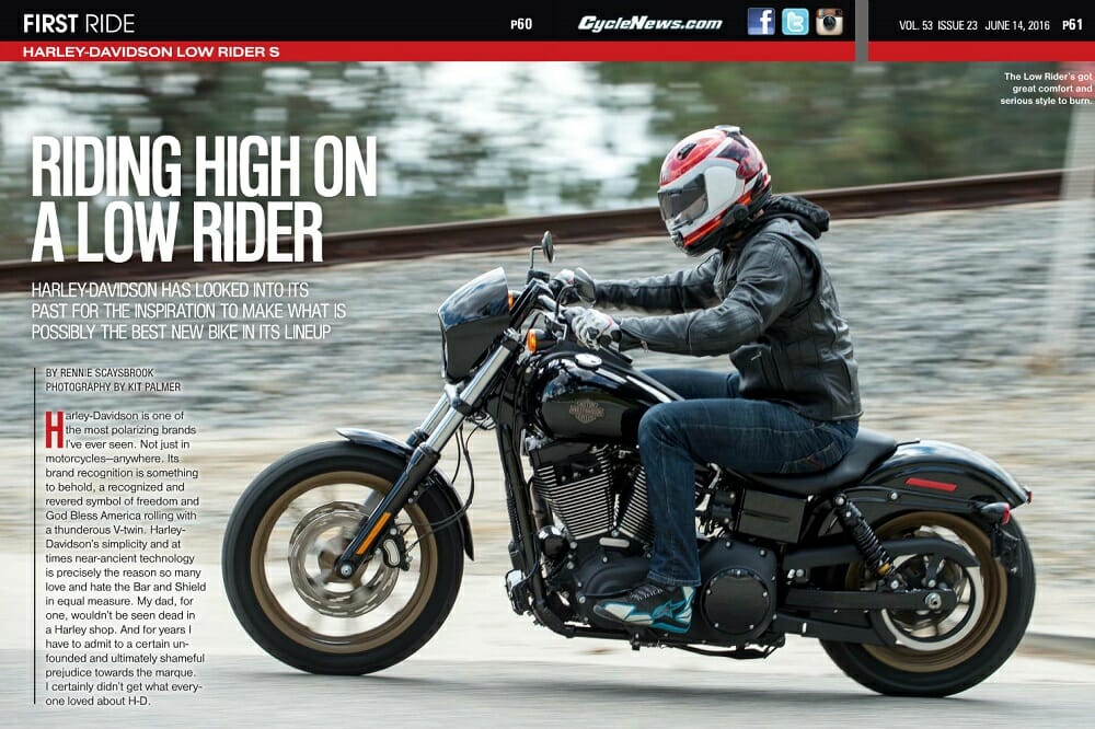 Harley-Davidson Low Rider S: FIRST RIDE - Cycle News