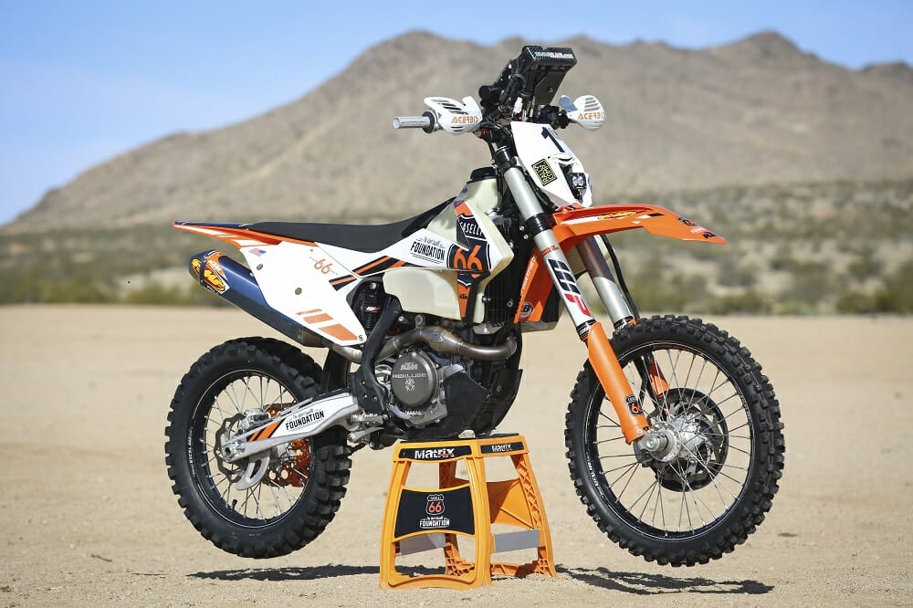 cycle news testing quinn cody s sonora rally winning ktm 450 xc f. Black Bedroom Furniture Sets. Home Design Ideas