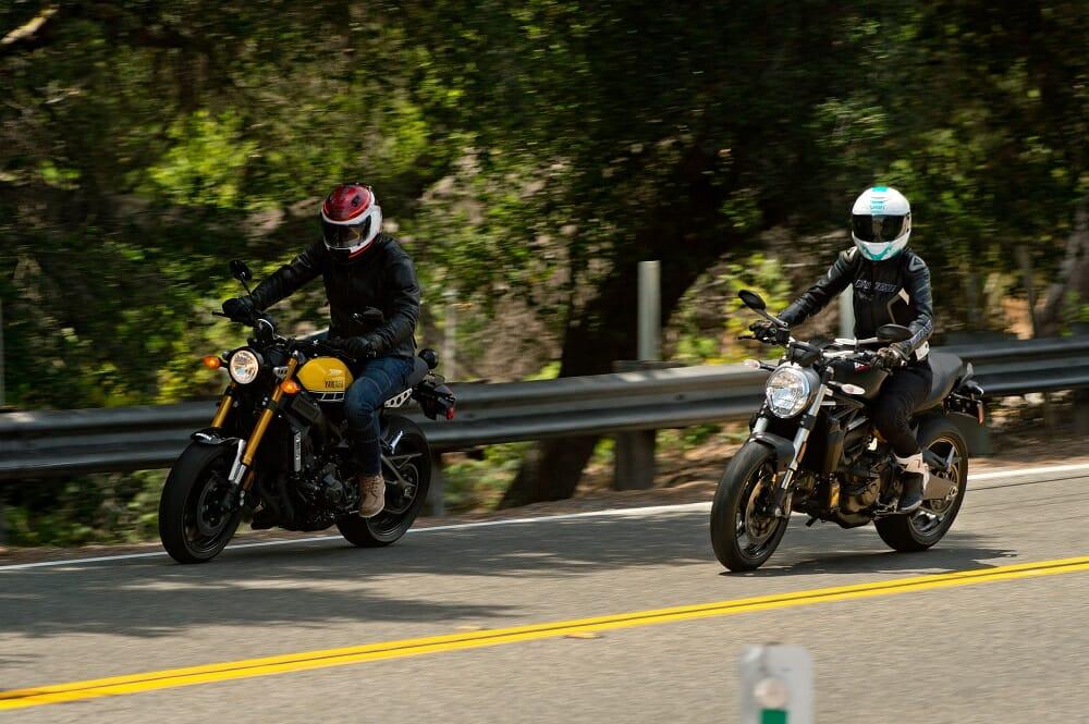 Yamaha XSR900 vs. Ducati Monster 821