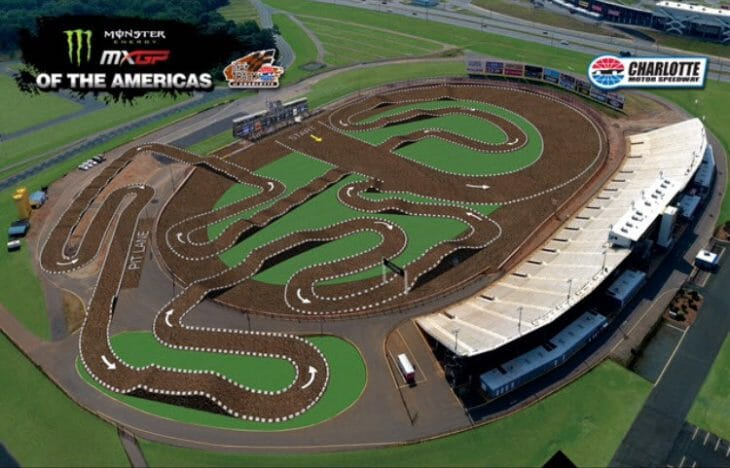 2016 Charlotte MXGP Track Map b