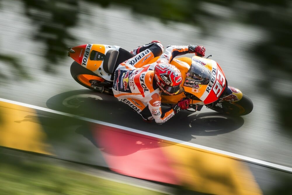 Marc Marquez wins German MotoGP