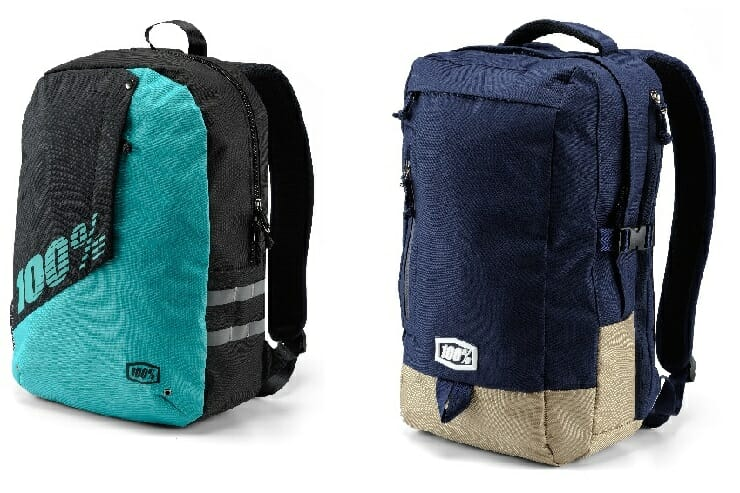 100 Percent's Porter and Transit Backpacks