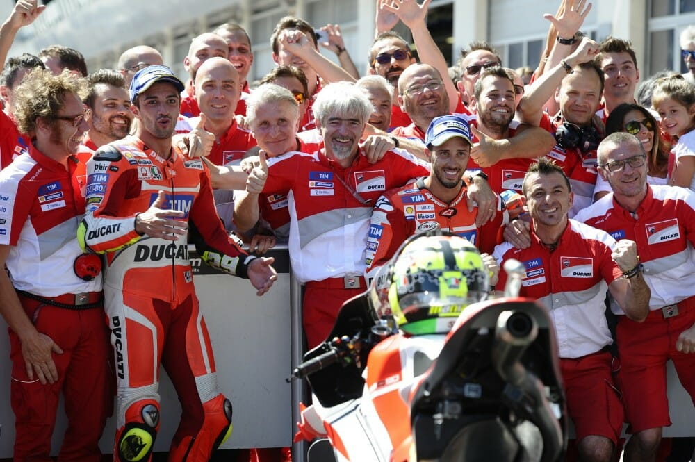 Andrea Iannone wins Austrian MotoGP