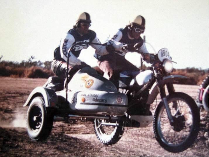 Doug Bingham was a sidecar off-road racing champ