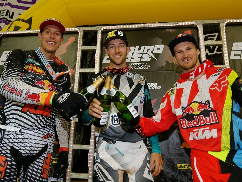 EnduroCross Georgia Podium