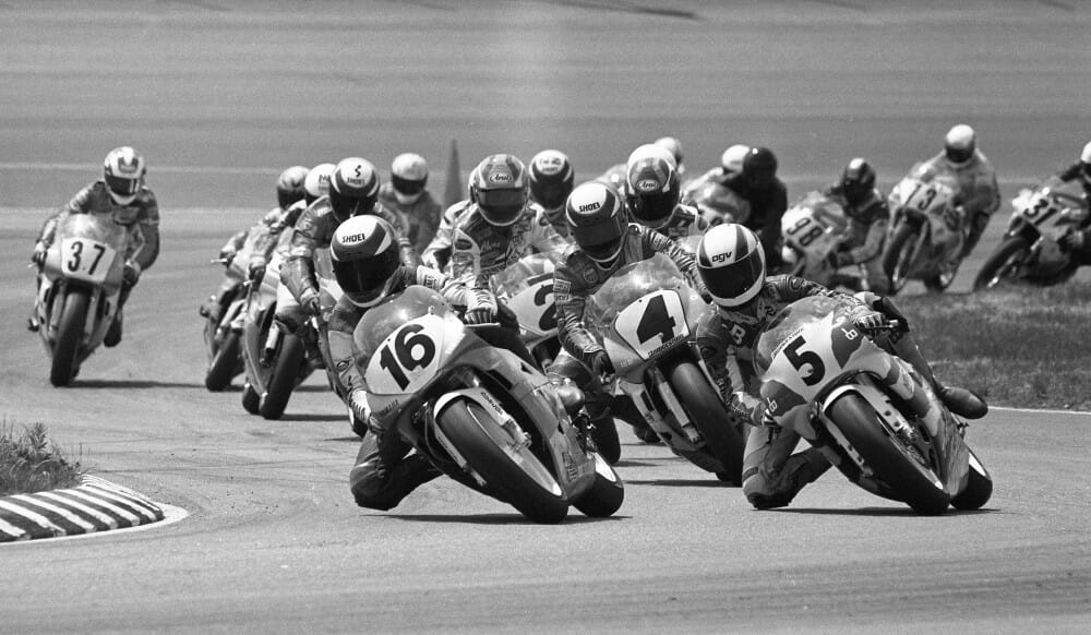 1992 AMA 250 Grand Prix race at New Hampshire International Speedway
