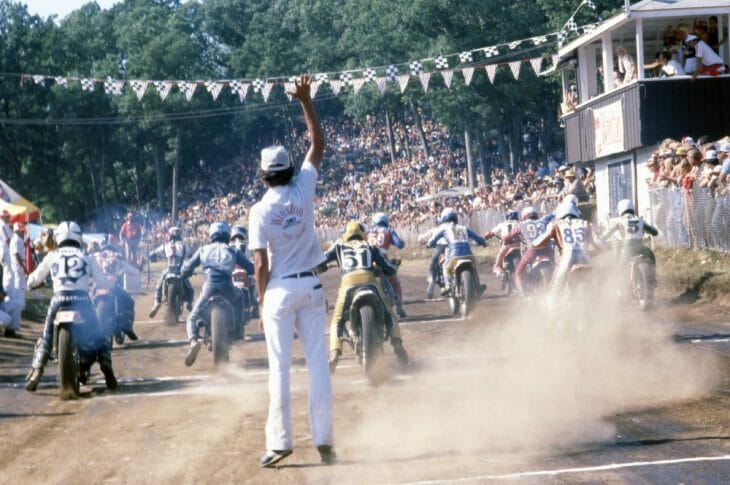 Peoria TT National in 1980