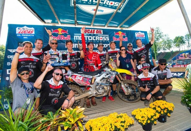 Soaring Eagle/Jimmy John's/RCH Suzuki Team