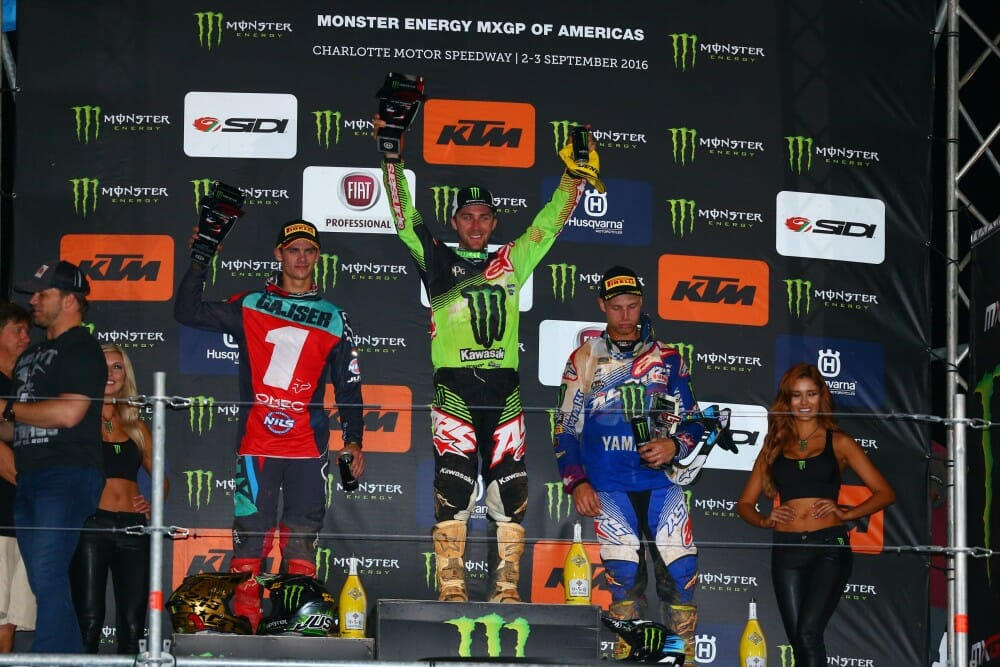 Eli Tomac Tops Monster Energy MXGP of Americas