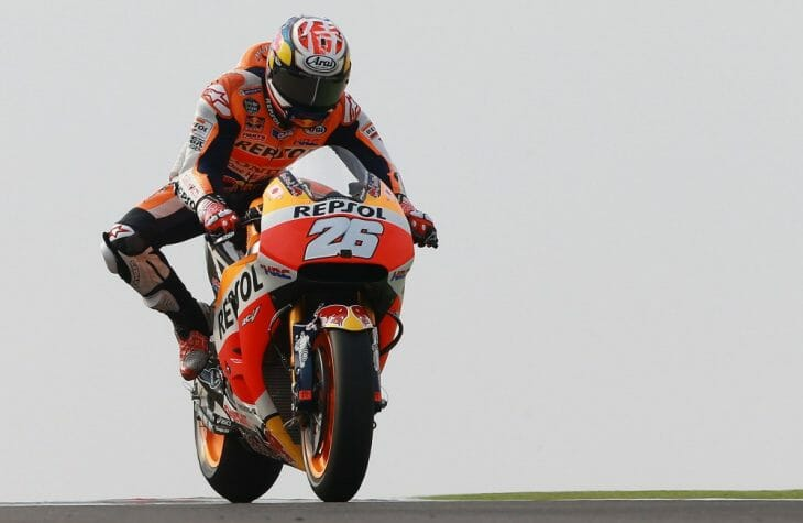 Dani Pedrosa fastest Friday at Aragon 2016