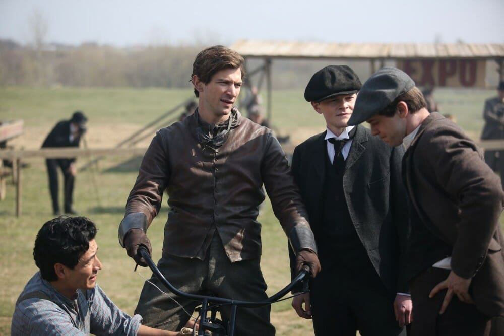 Harley and the Davidsons was entertaining, but historically inaccurate