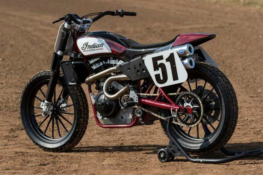 indian motorcycle scout ftr750 will make racing debut on sunday september 25 cycle news. Black Bedroom Furniture Sets. Home Design Ideas
