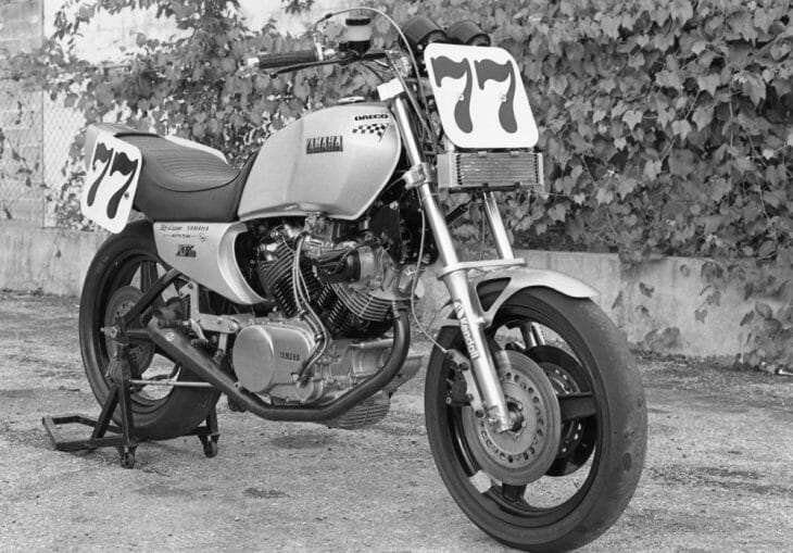Kevin Schwantz made his AMA Superbike debut on this Yamaha XV920