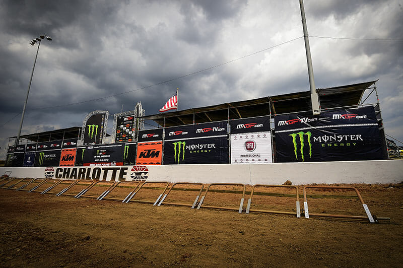 Charlotte MXGP Cancels Qualification