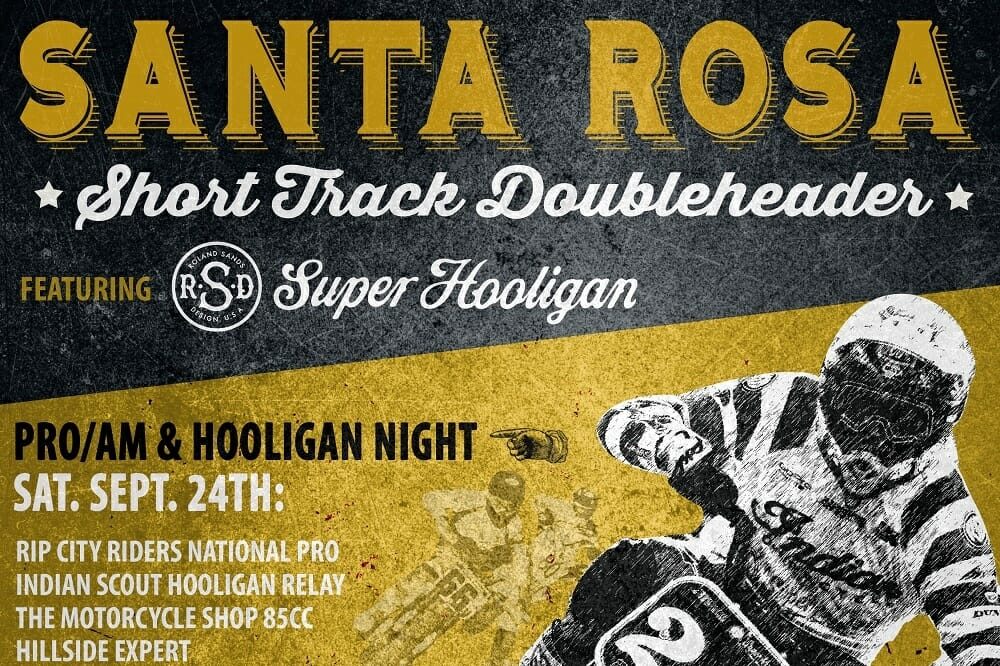 Indian Motorcycle sponsors SuperHooligan Santa Rosa