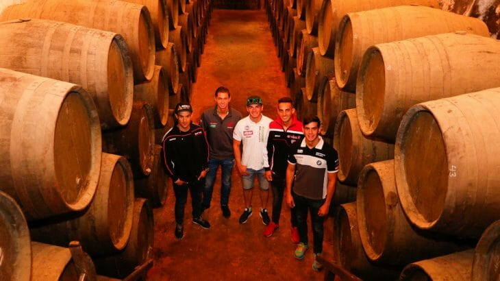 WorldSBK Riders experience authentic Andalusia